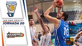 highlights   club melilla baloncesto vs saenz horeca araberri oro 16 17 j20