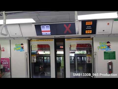 SMRT TRAINS C151b   North south line   To bishan
