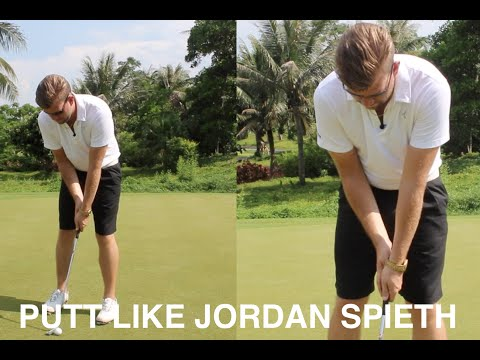 HOW TO PUTT CROSS HANDED LIKE JORDAN SPIETH