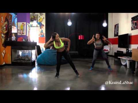 Dance Workout FULL BODY in just 10 minutes!!!! with Keaira LaShae