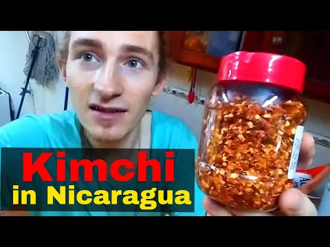 Making Kimchi Without Gochugaru Substitute for Korean Pepper Flakes in Nicaragua Latin America