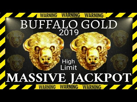 My 3rd BIGGEST JACKPOT so FAR in BUFFALO GOLD COLLECTION/ High limit