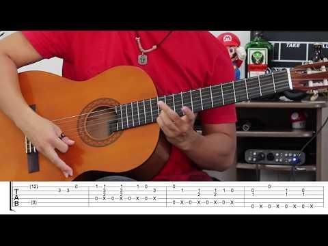 Bella Ciao Fingerstyle Guitar Lesson FREE TABS Tutorial - Rodrigo Yukio