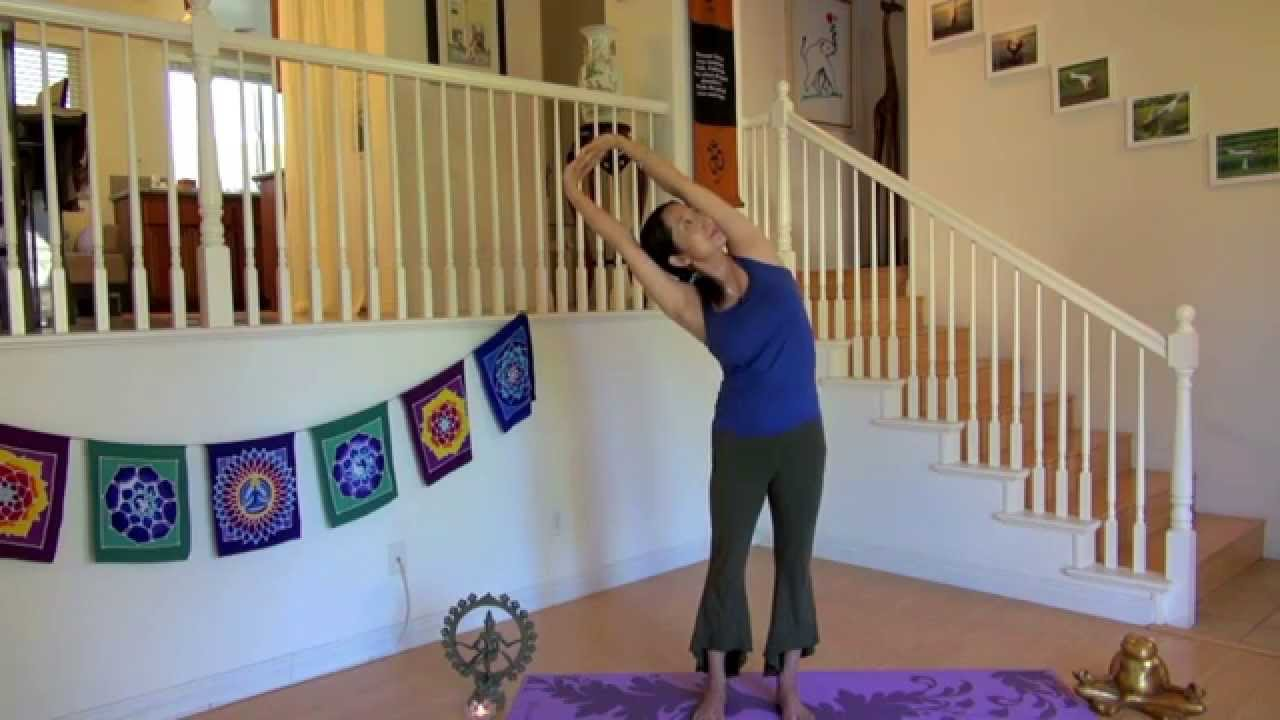 妍式瑜伽~ 肩頸背放鬆瑜伽(放鬆身心 愛惜自己主題) - YouTube
