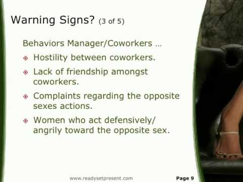 Sexual harassment pictures ppt viewer