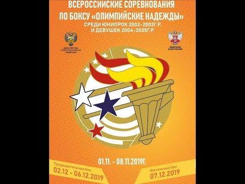 Всероссийские соревнования по боксу среди юниорок(17-18) и девушек (15-16) День 4