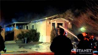 Fatal Fire In Mobile Home
