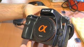 не реагирует колесо/диск управления. Зеркальная фотокамера Sony A100