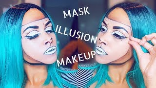 MASK ILLUSION MAKEUP TUTORIAL | INSPIRED BY MIMI CHOI