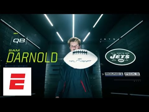 New York Jets take USC QB Sam Darnold with No. 3 overall pick in 2018 NFL draft | ESPN