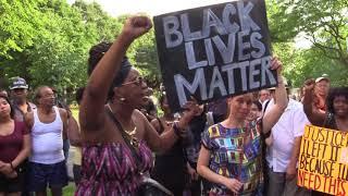 Black Lives Matter demonstration in Montreal