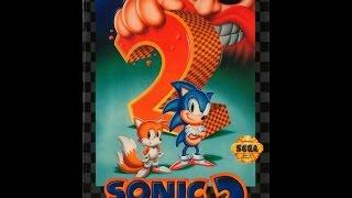 Sonic The Hedgehog 2 Прохождение Золотым Соником (Sega)