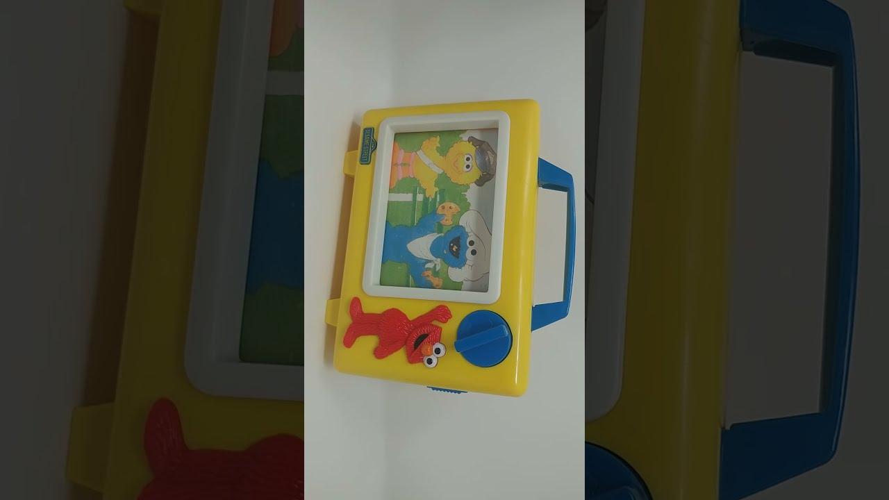 Sesame Street Musical Toys : Sold to a shuffle shopper vtg tyco preschool sesame