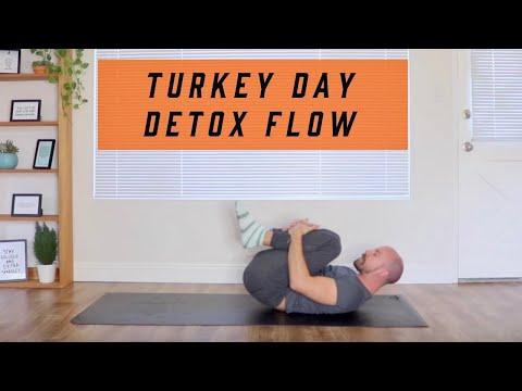 TURKEY DAY DETOX - Hips, Low Back, Digestive System