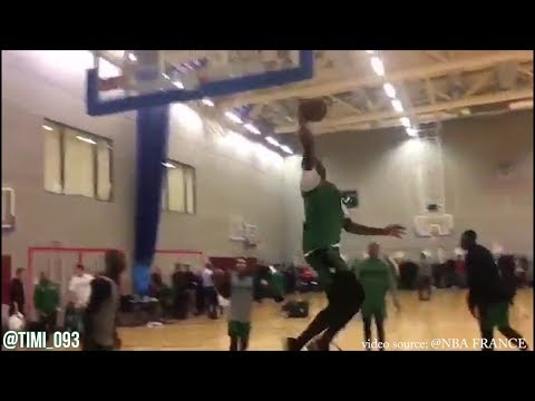 Boston Celtics London 2018 Practice Day 1 Highlights (01/09/2018)