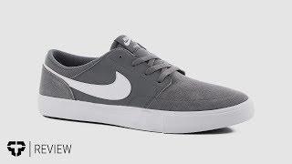 Nike SB Portmore II Solar Skate Shoes Review - Tactics.com