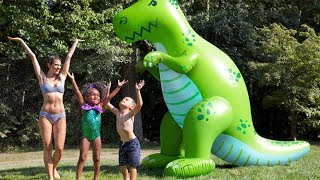 A Giant T-Rex Dinosaur Yard Sprinkler + More Toys to Amp Up the Fun This Summer 2018