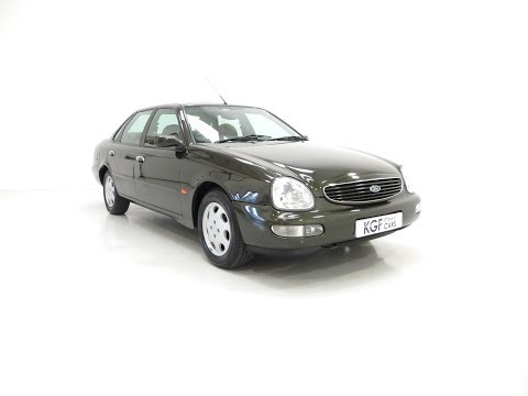 A Very Attractive Ford Scorpio Ultima 2.9 EFi V6 with Just 26,293 Miles - SOLD!