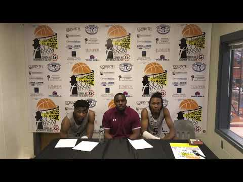 2019 Lighthouse Thanksgiving Classic West Oaks Academy (FL) Post Game Press Conference 11-29-19