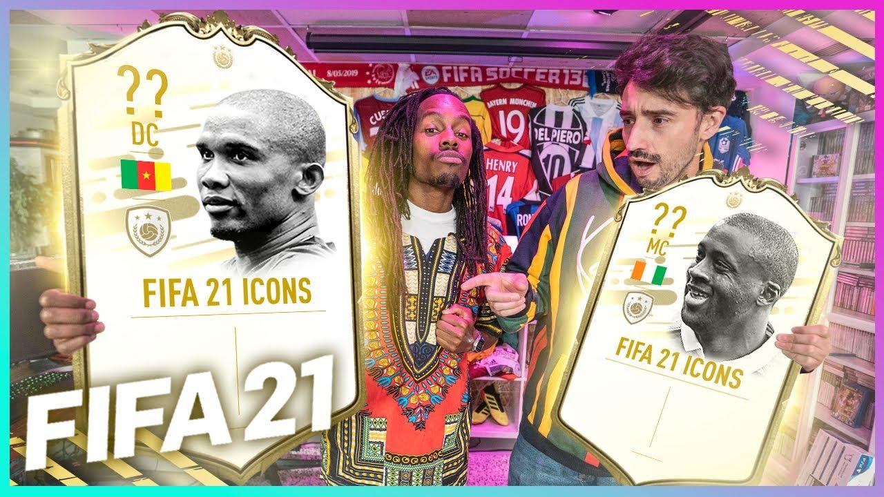 FIFA 21 | ¡ETO'O Y YAYA TOURÉ NUEVOS ICONOS AFRICANOS!