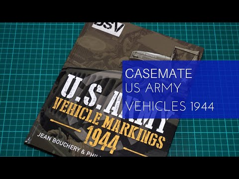 Casemate U.S. Army Vehicle Markings 1944 Review
