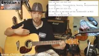 Akustik Gitarren Anfäger Kurs: Lektion #4: Spiel Praxis - Zwei Lieder mit EAD
