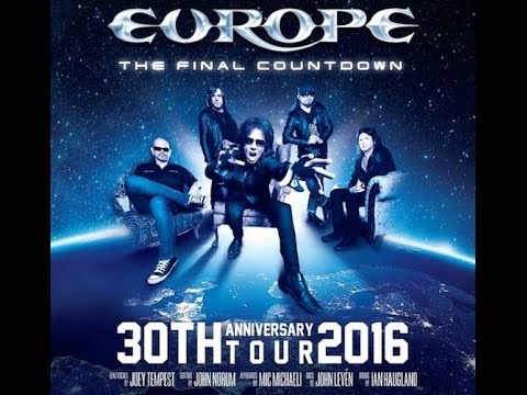 Europe - Live In Barcelona 2016 - The Final Countdown 30th Anniversary Show  ( Full Concert )