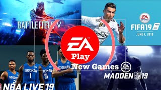 Every New Game Introduced in Ea Play Remix | E3 2018