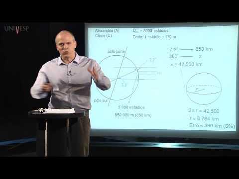 Matemática - Aula 15 - Geometria da esfera: da Terra ao GPS - parte 1