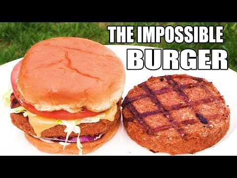 FAKE Impossible Burger? - Plant Based Meat Burger? - The Wolfe Pit