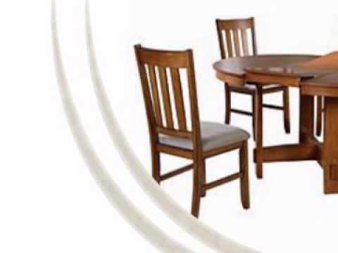 Ashley Porter Counter Height Extension Dining Set Review Youtube ... Round/Oval Dinette Set w/ Butterfly Leaf is brought to you by