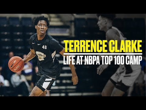 2021 Top-Three Prospect Terrence Clarke Balled at the NBPA TOP 100 Camp