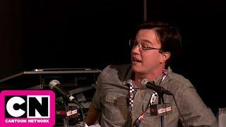 Sam Marin Voice Sketch I New York Comic Con I Cartoon Network