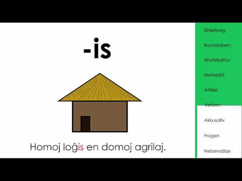 Wie funktioniert Esperanto?