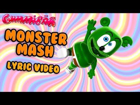 MONSTER MASH Lyric Video Gummy Bear Song For Halloween