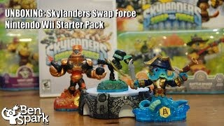 Skylanders Swap Force Wii Starter Pack Unboxing