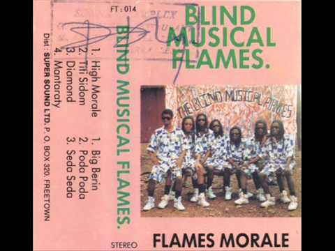 Blind Musical Flames of Freetown Siera Leone (Album: Flame Moral 1989)