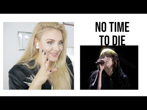 Vocal Coach|Reacts Billie Eilish – No Time To Die (Live From The BRIT Awards, London)
