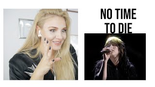 Vocal Coach|Reacts Billie Eilish - No Time To Die (Live From The BRIT Awards, London)