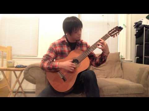 """I recently published an EP called """"Chamber Music For Guitar"""" and the piece is one of them."""