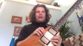Fun on an old 58 Gibson Flying V!!!!