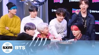 BTS Eat Churros on The Morning Mash Up