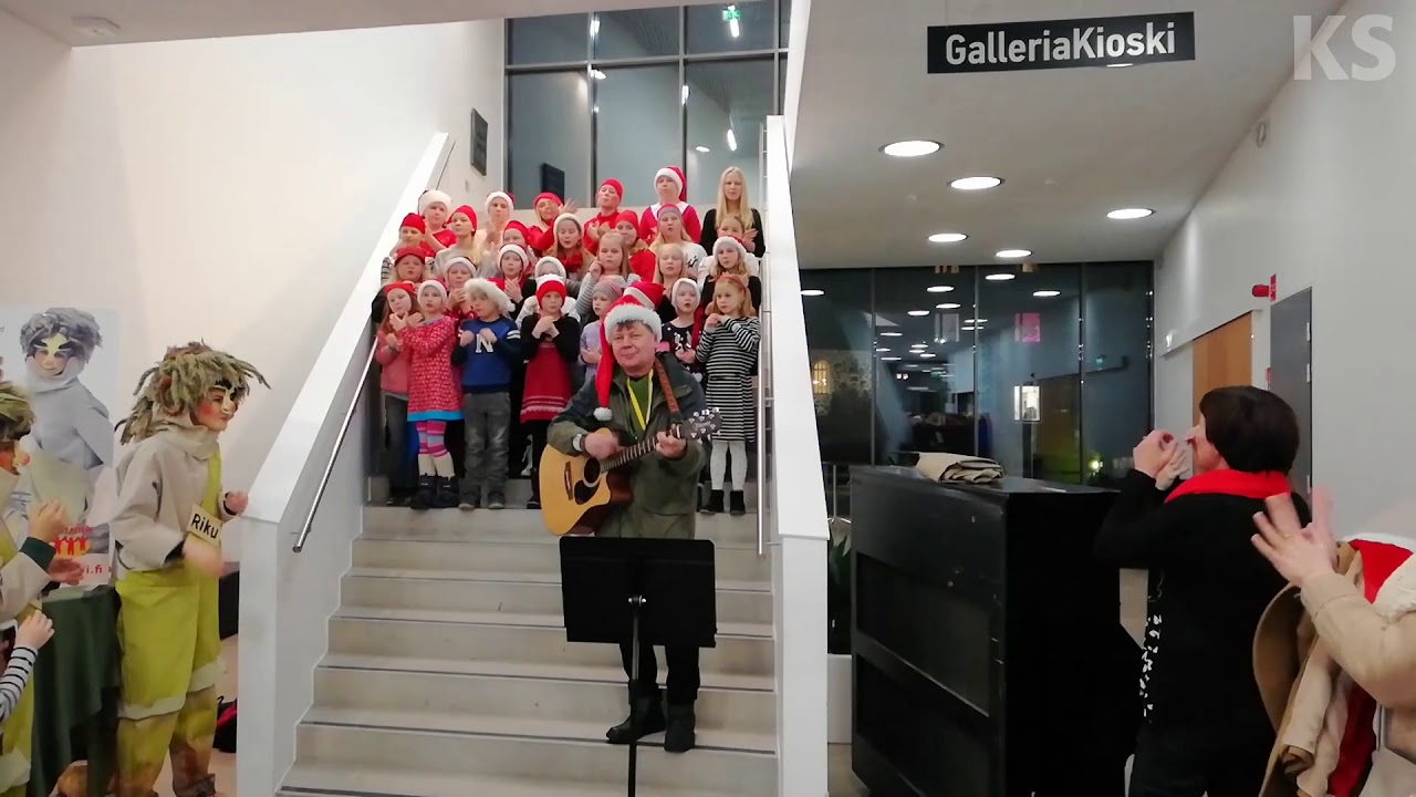 Kangasalan joulunavaus 24.11.2017