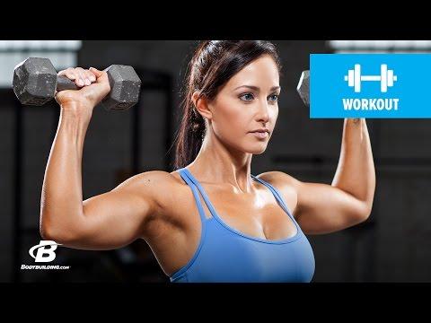 IFBB Bikini Pro Shoulder Workout | Ali Rosen
