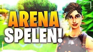 DUO ARENA SPELEN (300+ PUNTEN)!! - (FORTNITE BATTLE ROYALE) NEDERLANDS