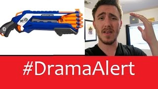 GoldGloveTV wants to Smack Kid #DramaAlert Nerf or Crying!