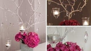 """DIY: Blumen-Deko """"Centerpiece"""" für festliche Tischdekorationen selber machen   Deko Kitchen"""