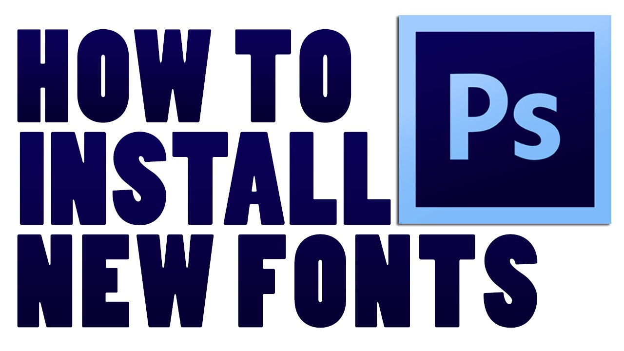 Windows 10 how to install new fonts for photoshop cs6 youtube windows 10 how to install new fonts for photoshop cs6 ccuart Image collections