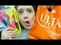 More Makeup... ULTA shopping + HAUL! FionaFrills Vlogs