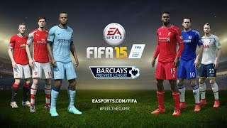 FIFA 15 Demo gameplay Liverpool-Manchester City [RUS/ENG]